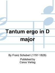 Tantum ergo in D major