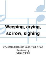 Weeping, crying, sorrow, sighing (Weinen, Klagen, Sorgen, Zagen)