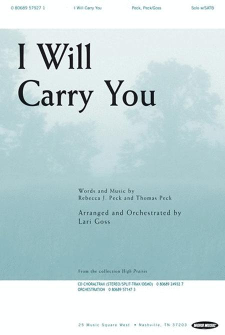 I Will Carry You