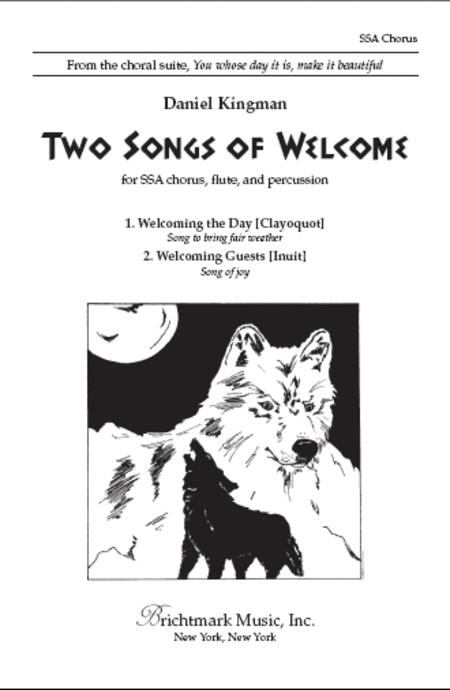 Two Songs Of Welcome (Nos  1 & 2) Sheet Music By Daniel Kingman