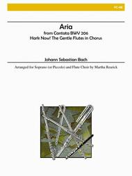 Aria from Cantata BWV 206 - Hark Now! The Gentle Flutes in Chorus