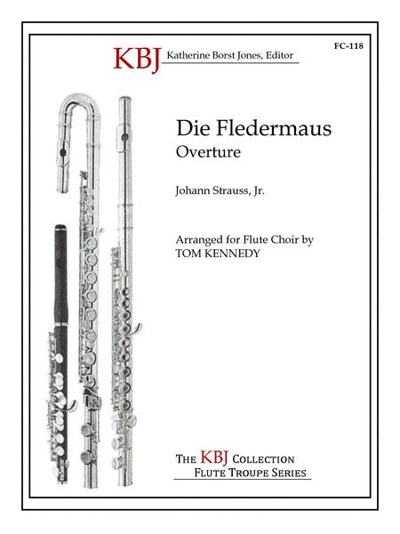 Die Fledermaus Overture for Flute Choir