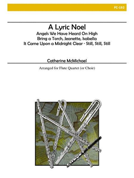 A Lyric Noel