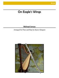 On Eagle's Wings for Flute and Harp