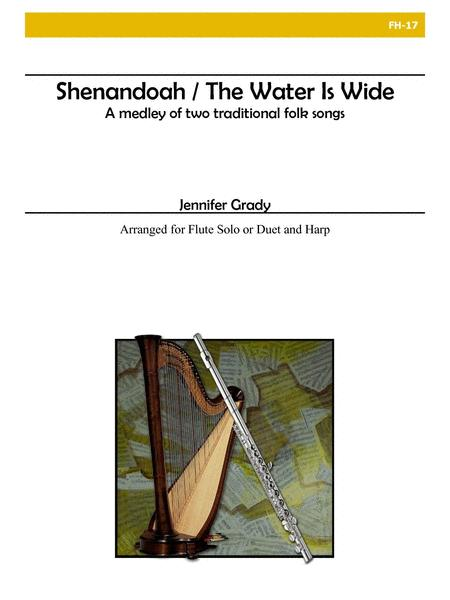 Shenandoah/The Water Is Wide for Flute and Harp