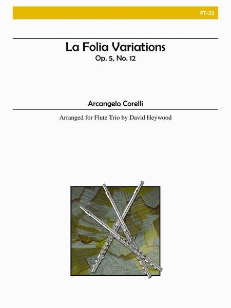 La Folia Variations, Op. 5 No. 12