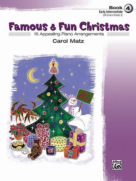 Famous & Fun Christmas, Book 4