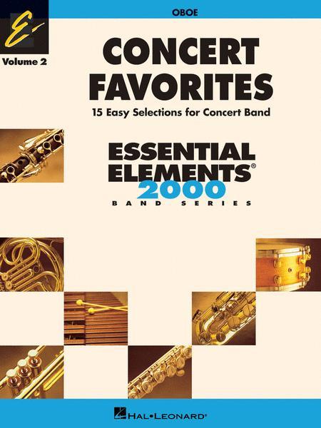 Concert Favorites Vol. 2 - Oboe