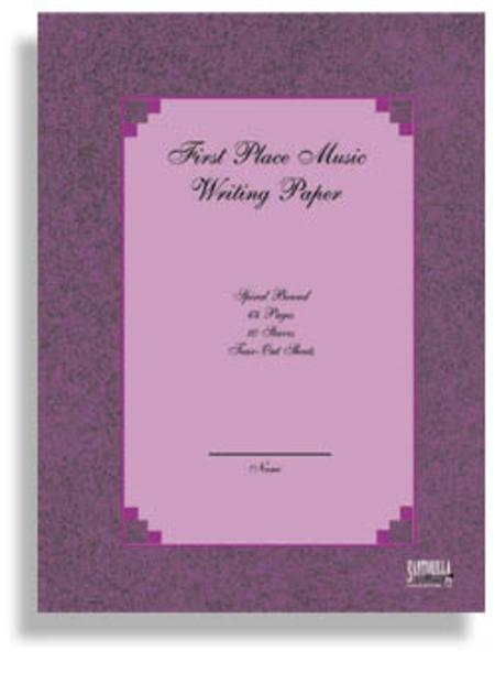 First Place Music Writing Paper