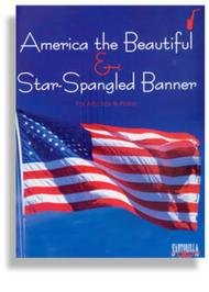 Star Spangled Banner & America the Beautiful for Alto Sax & Piano