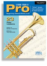 Learn From A Pro for Trumpet with CD
