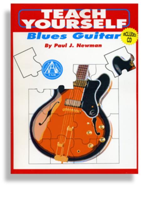 Teach Yourself Blues Guitar with CD