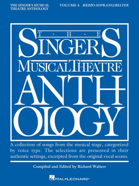 The Singer's Musical Theatre Anthology - Volume 4 - Mezzo-Soprano/Belter (Book only)