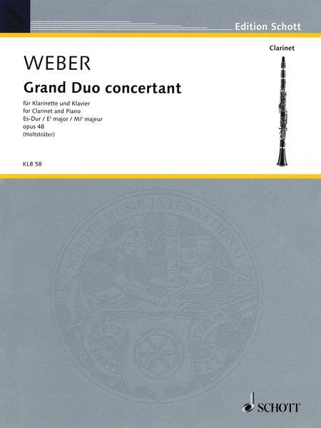 Grand Duo concertant Eb major op. 48 JV 204, WeV P.12