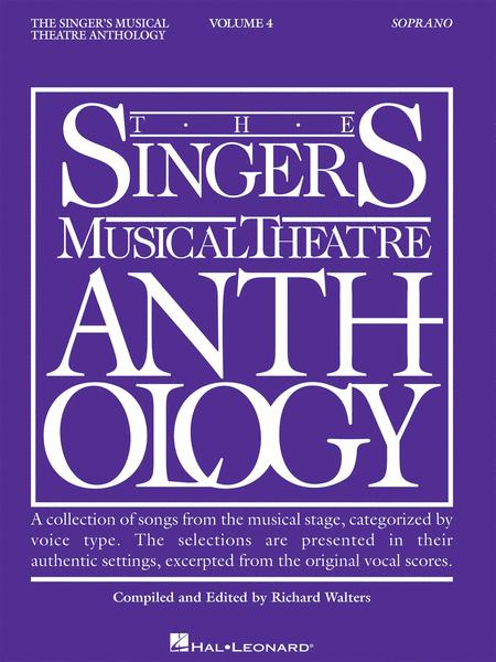 The Singer's Musical Theatre Anthology - Volume 4 - Soprano (Book only)