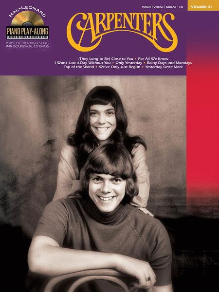 Carpenters By The Carpenters - Softcover Audio Online Sheet Music For Piano/Vocal/Guitar - Buy ...