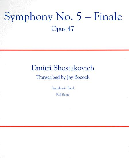Symphony No  5 - Finale Sheet Music By Dmitri Shostakovich