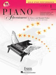 Piano Adventures Level 1 - Gold Star Performance with CD