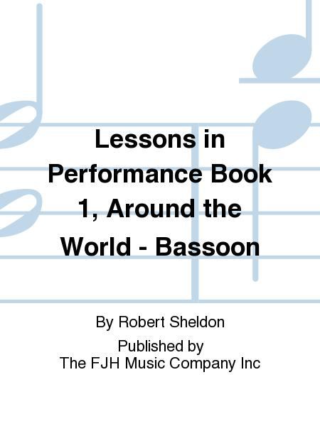 Lessons in Performance Book 1, Around the World - Bassoon