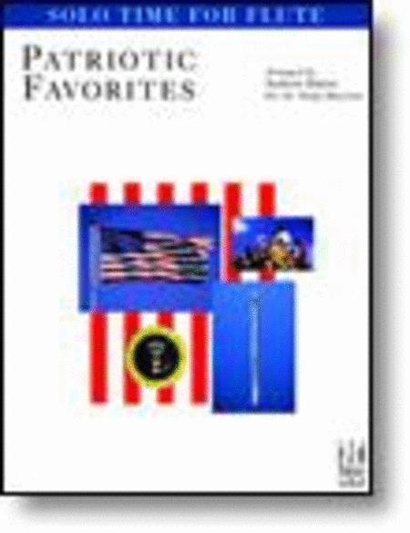 Solo Time Patriotic Favorites for Flute