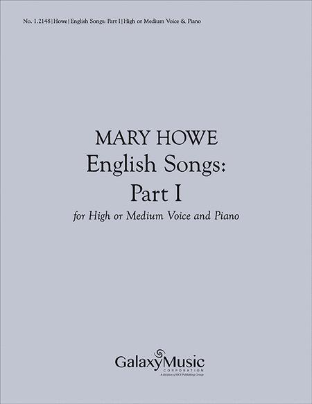 English Songs, Part I