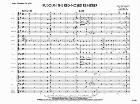 Rudolph The Red Nosed Reindeer Sheet Music By Johnny Marks Sheet
