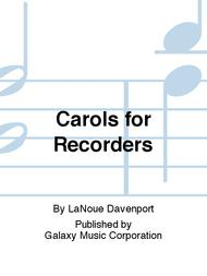 Carols for Recorders