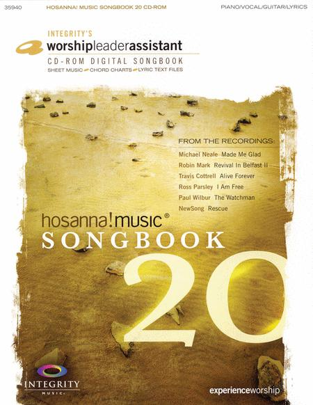 Hosanna! Music Songbook 20