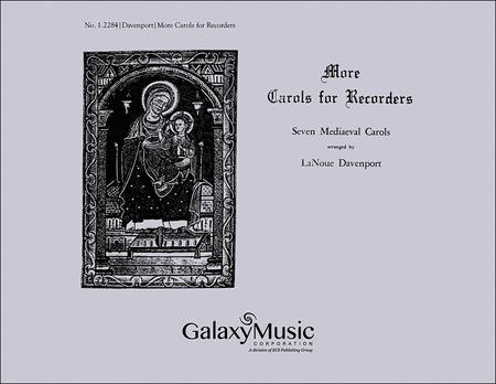 More Carols for Recorders