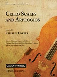Cello Scales and Arpeggios