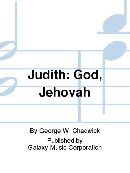 Judith: God, Jehovah