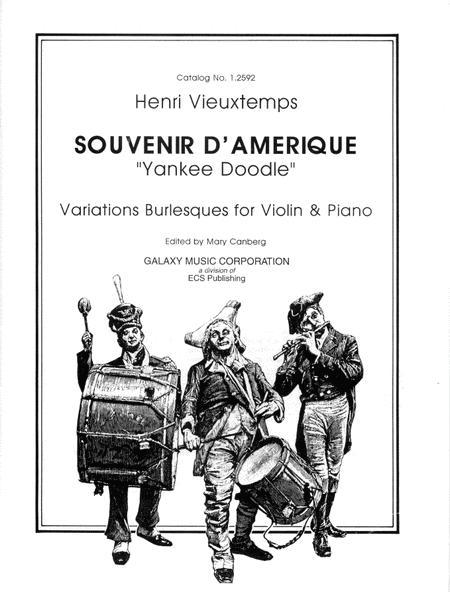 Souvenir D'amerique, Variations on 'Yankee Doodle'