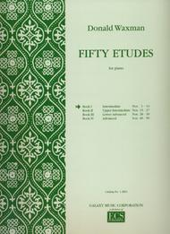 Fifty Etudes, Book 1