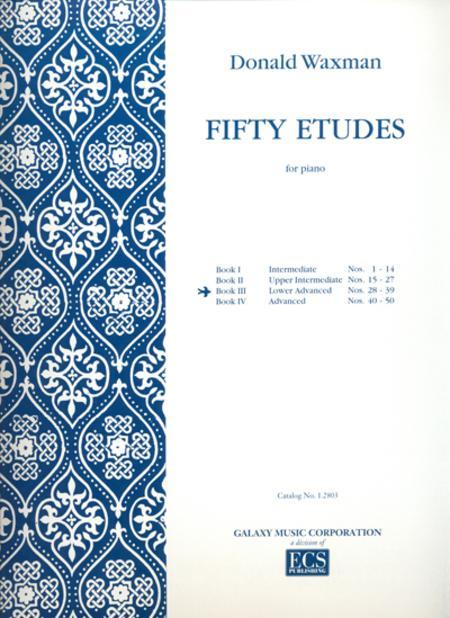 Fifty Etudes, Book 3