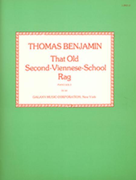 That Old Second-Viennese School Rag