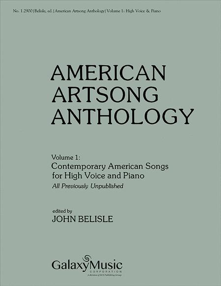 American Art Song Anthology, Volume 1: Contemporary American Songs for High Voice and Piano