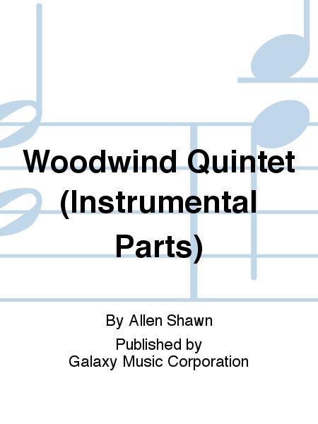 Woodwind Quintet (Instrumental Parts)