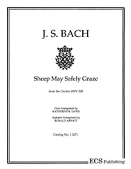 Sheep May Safely Graze (Set of Parts [2 Flutes & Organ])