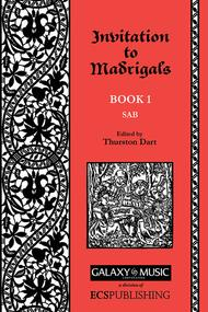Invitation to Madrigals, Book 1