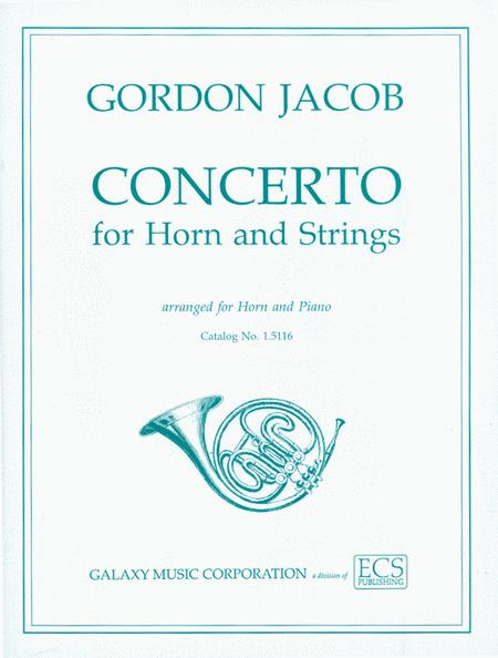 Concerto for Horn & Strings (or Band)
