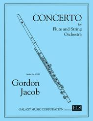 Concerto for Flute & Strings, No. 1