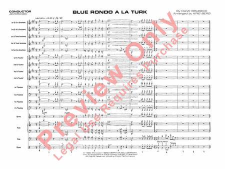 Sheet Music Blue Rondo A La Turk