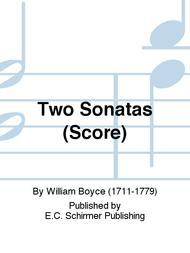 Two Sonatas (Score)
