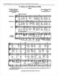 O Rejoice, Ye Christians Loudly, BWV 40