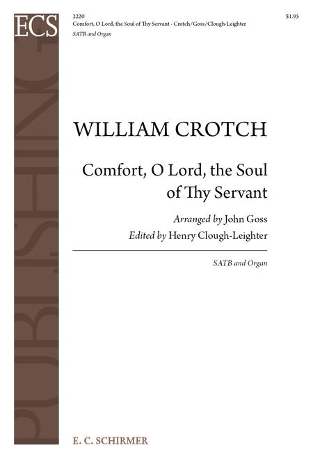Comfort, O Lord, the Soul of Thy Servant