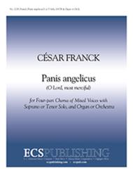 Panis angelicus: O Lord, most merciful (Choral Score)