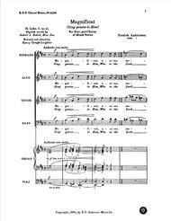 Magnificat (Sing Praise to Him)