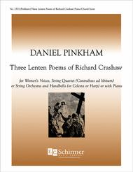 Three Lenten Poems of Richard Crashaw