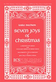 The Seven Joys of Christmas (Choral Score)
