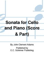 Sonata for Cello and Piano (Score & Part)